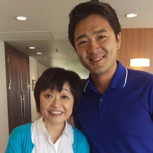 増田明美さんと